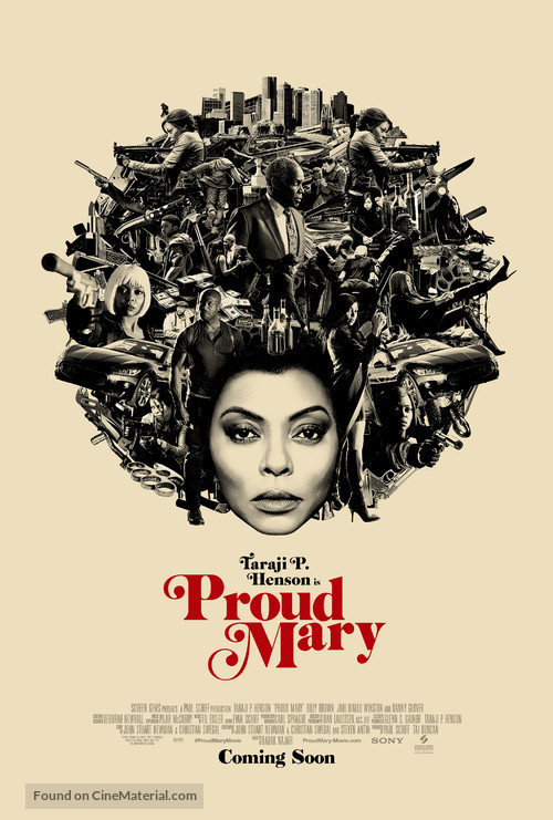 Proud Mary - Movie Poster