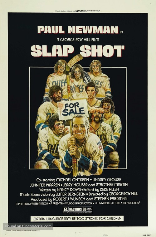 Slap Shot - Movie Poster