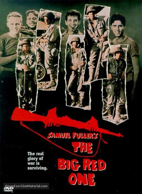 The Big Red One - DVD movie cover