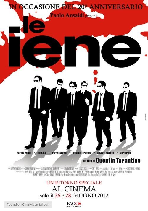 Reservoir Dogs - Italian Movie Poster