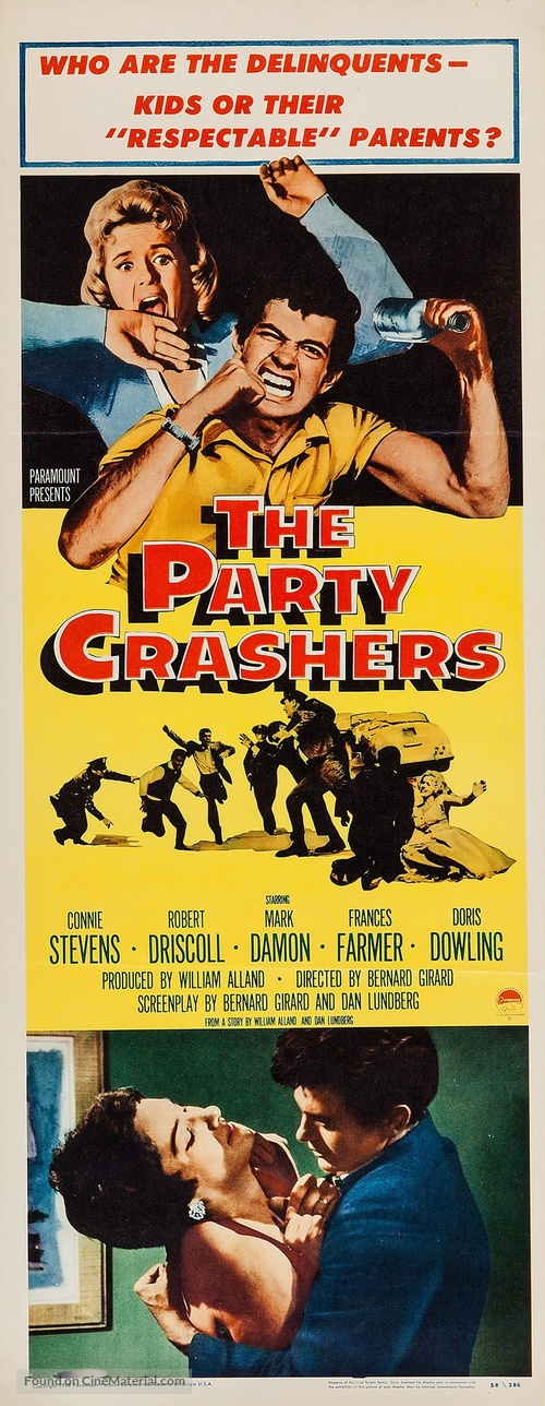 The Party Crashers - Movie Poster