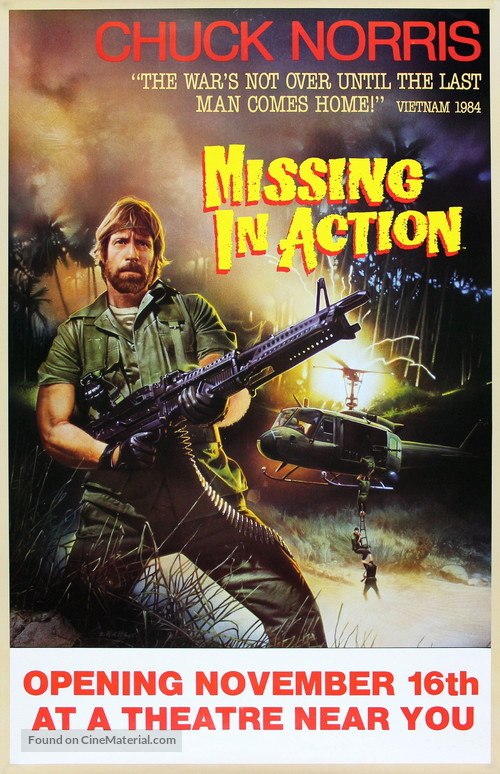 Missing in Action - Movie Poster
