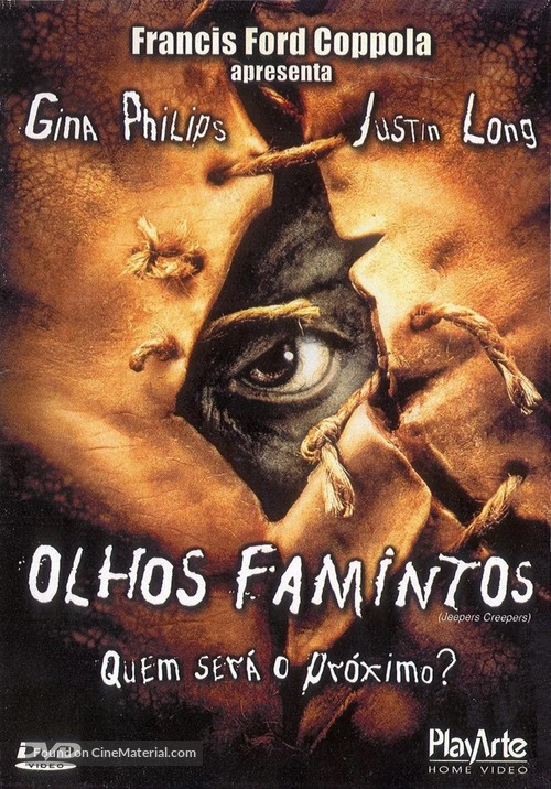 Jeepers Creepers - Brazilian Movie Cover