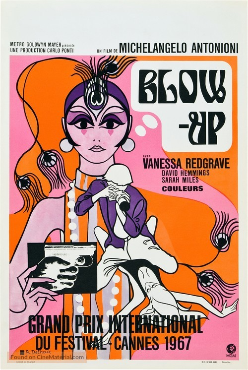 Blowup - Belgian Movie Poster