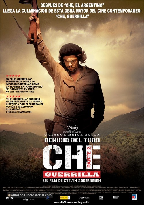 Che: Part Two - Argentinian Movie Poster