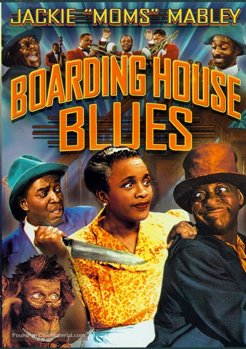 Boarding House Blues - DVD movie cover