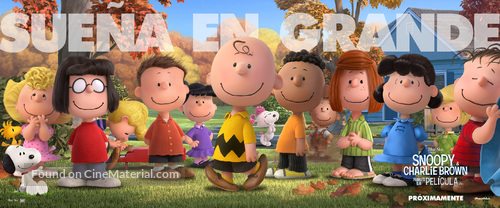 The Peanuts Movie - Argentinian Movie Poster