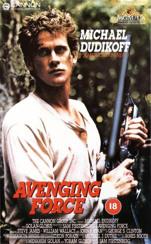 Avenging Force - British Movie Cover