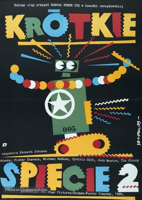 Short Circuit 2 - Polish Movie Poster