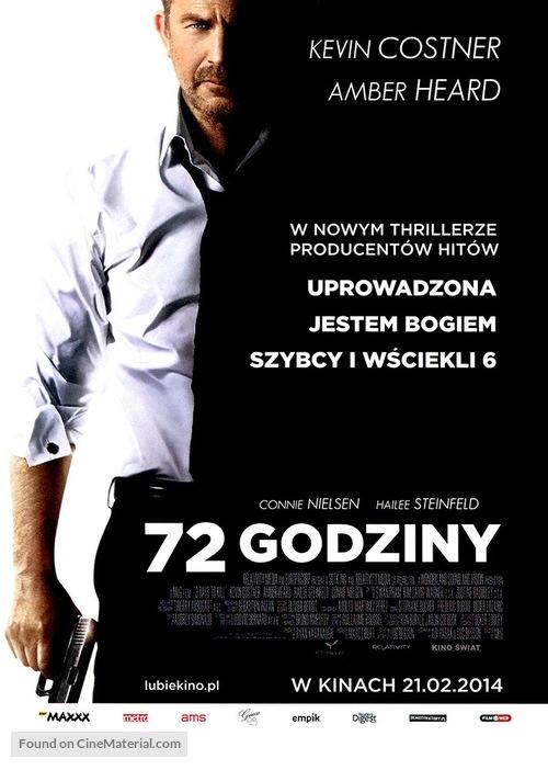 3 Days to Kill - Polish Movie Poster