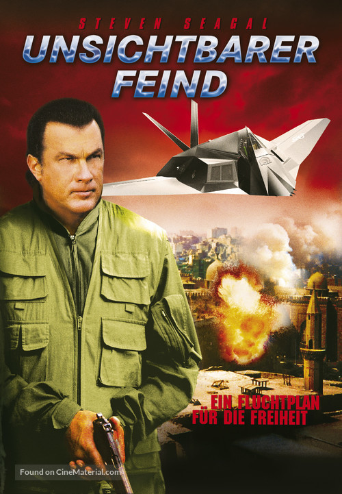 Flight of Fury - German poster