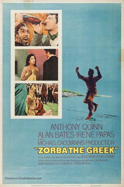 Alexis Zorbas - Movie Poster
