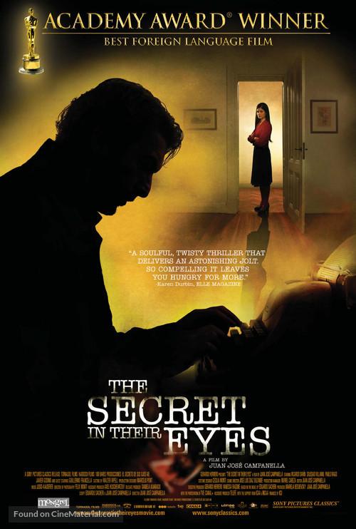 El secreto de sus ojos - Canadian Movie Poster