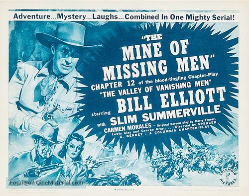 The Valley of Vanishing Men - Movie Poster