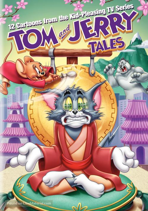 """""""Tom and Jerry Tales"""" - DVD movie cover"""