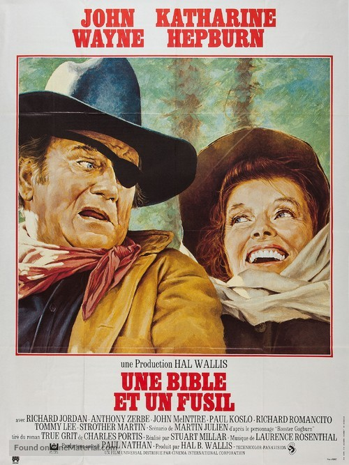 Rooster Cogburn - French Movie Poster