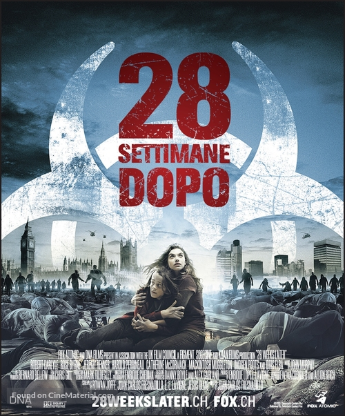 28 Weeks Later - Swiss Movie Poster