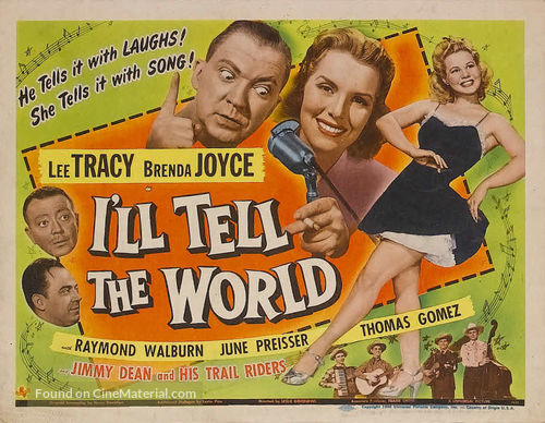 I'll Tell the World - Movie Poster