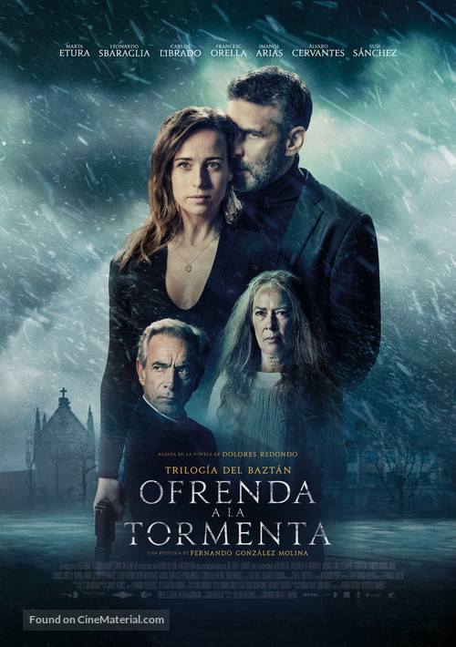 Ofrenda a la tormenta - Spanish Movie Poster