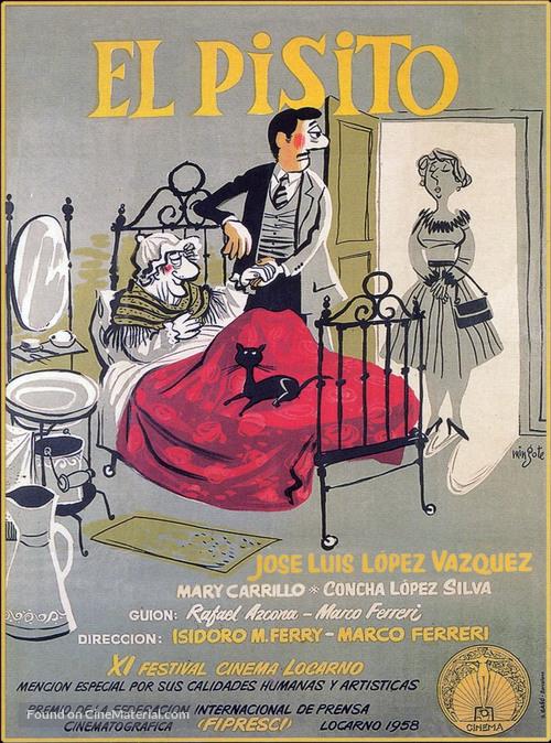 El pisito - Spanish Movie Poster