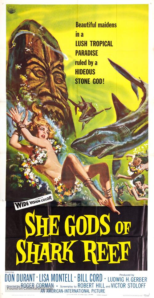She Gods of Shark Reef - Movie Poster