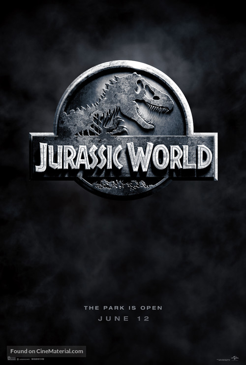 Jurassic World - Teaser movie poster