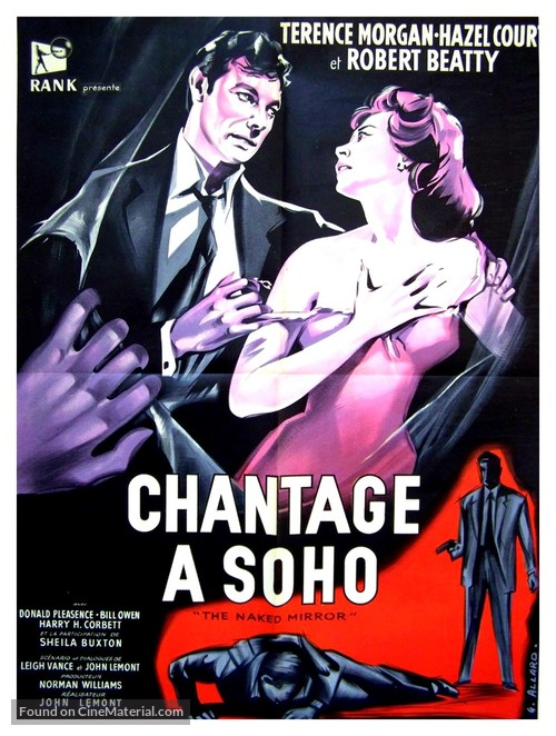 The Shakedown - French Movie Poster