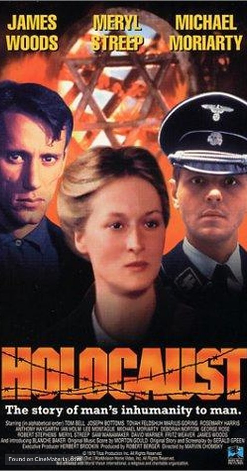 """Holocaust"" - VHS movie cover"