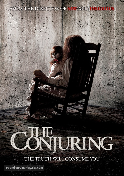 The Conjuring - DVD movie cover