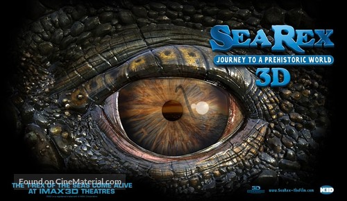 Sea Rex 3D: Journey to a Prehistoric World - Movie Poster