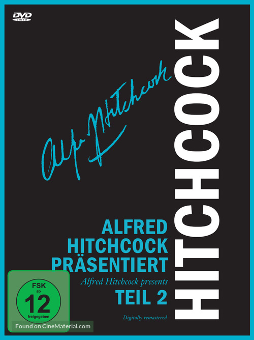 """""""Alfred Hitchcock Presents"""" - German Movie Cover"""