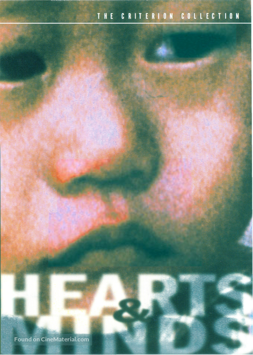 Hearts and Minds - DVD movie cover