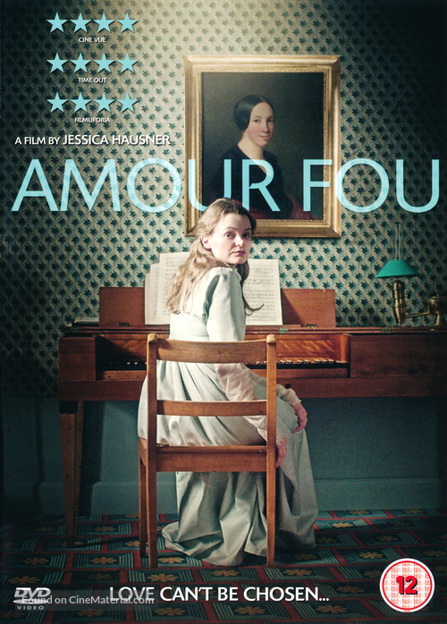 Amour fou - British DVD movie cover