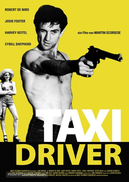 Taxi Driver - German Movie Poster