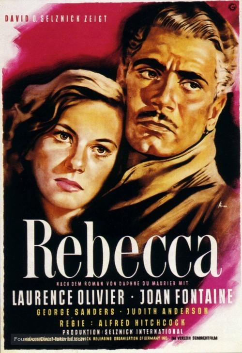 Rebecca - German Movie Poster