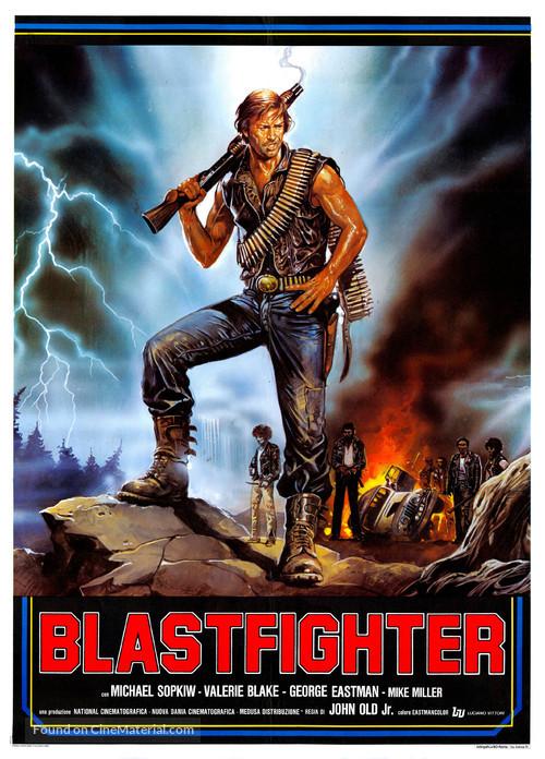 Blastfighter - Italian Movie Poster