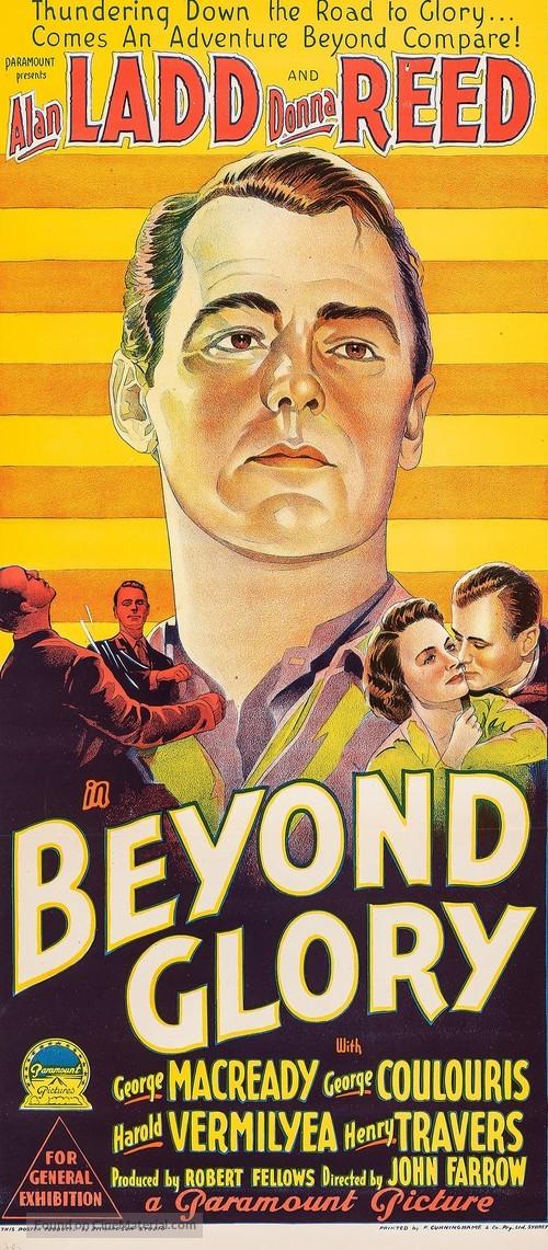 Beyond Glory - Australian Movie Poster