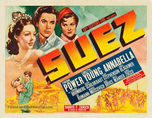 Suez - Movie Poster