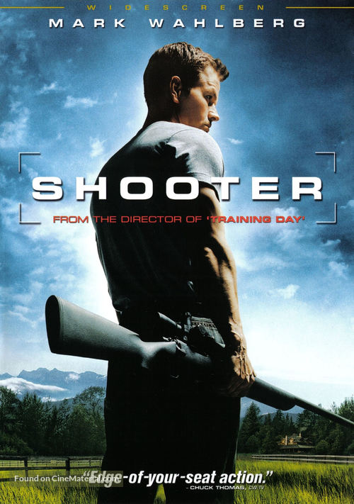 Shooter - DVD movie cover