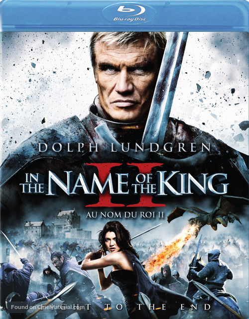 In the Name of the King: Two Worlds - Canadian Blu-Ray movie cover