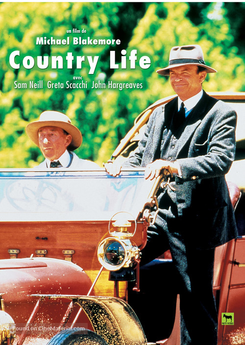 Country Life - French poster