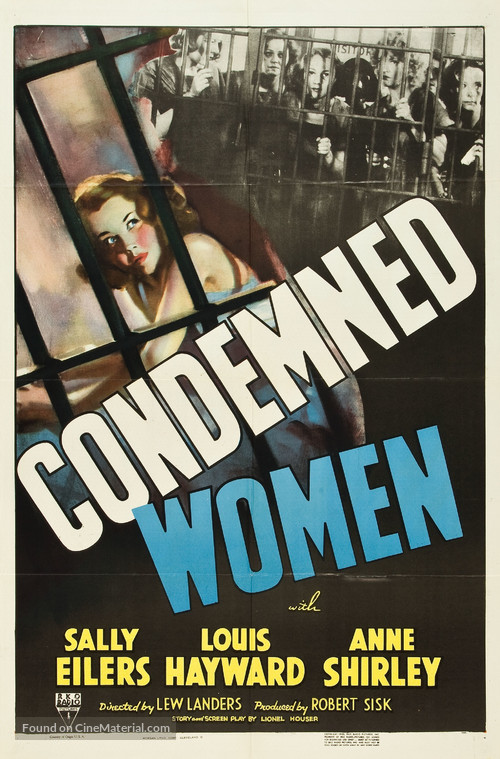Condemned Women - Movie Poster