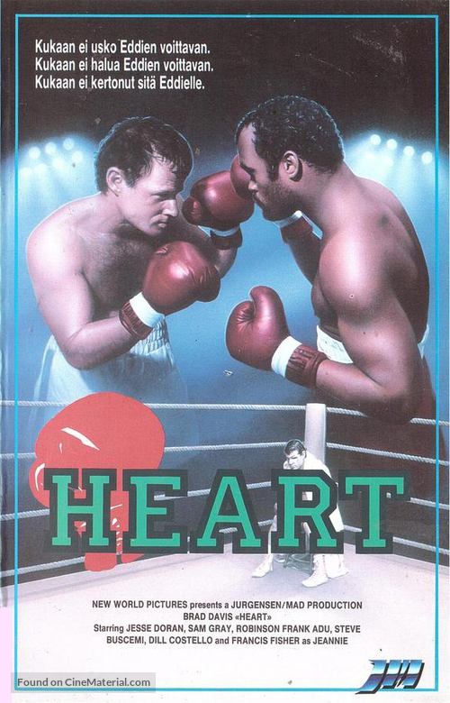 Heart - Finnish VHS movie cover