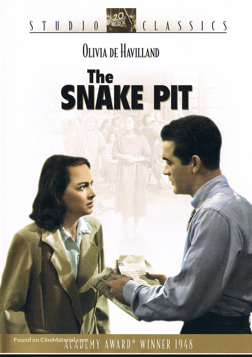The Snake Pit - DVD movie cover