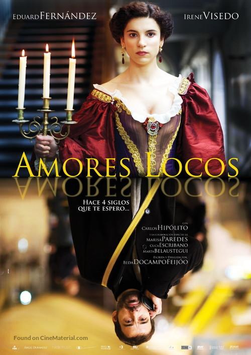 Amores locos - Spanish Movie Poster