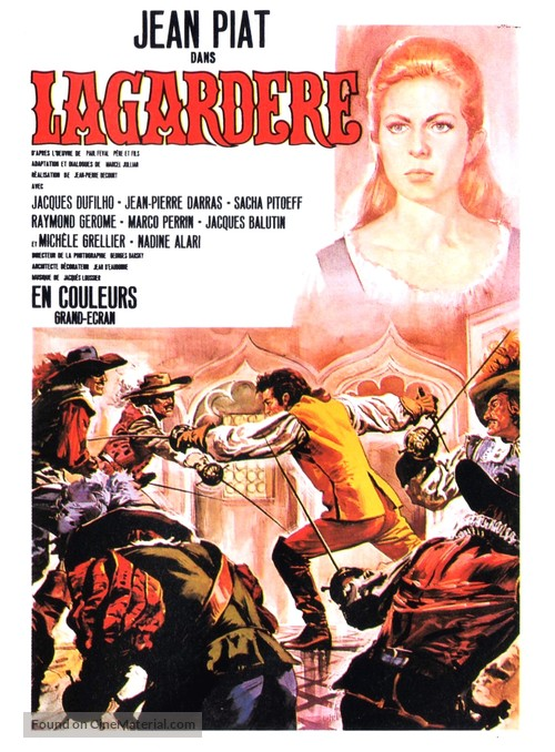 """""""Lagardère"""" - French Movie Poster"""