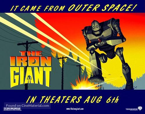 The Iron Giant - British Movie Poster