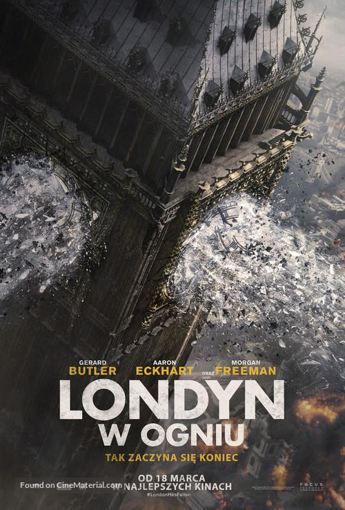 London Has Fallen - Polish Movie Poster
