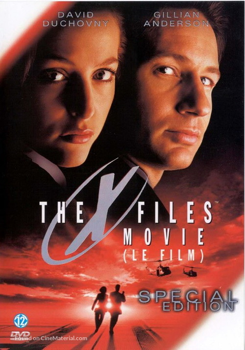 The X Files - French Movie Cover