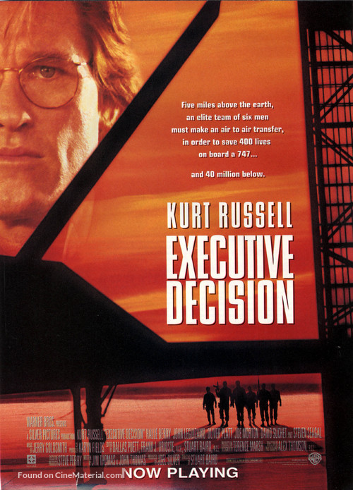 Executive Decision - Movie Poster